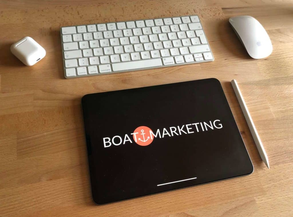 Boat Marketing Desk